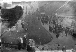 Begravelse for 6 personer som omkom i raset ved Rjukan kirke