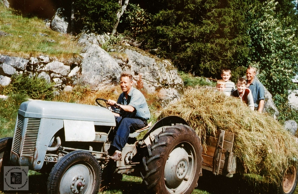 Historiske Foto- Marnardal og Audnedal