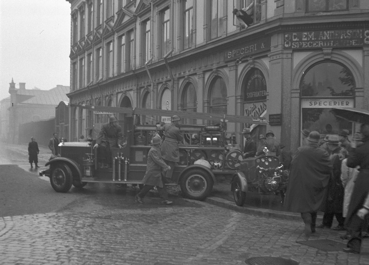 Försvarsuppvisning, i Gävle. 13 september 1941.