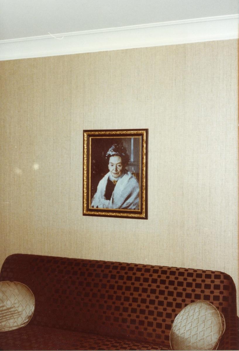 Studiebesök vid Bofors Nobelmuseum. Interiör.
