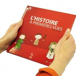 Bok med DVD, inneholder en visuell framstilling av europeisk historie. Uten tale og tegnspråk. kr: 300,- (Foto/Photo)