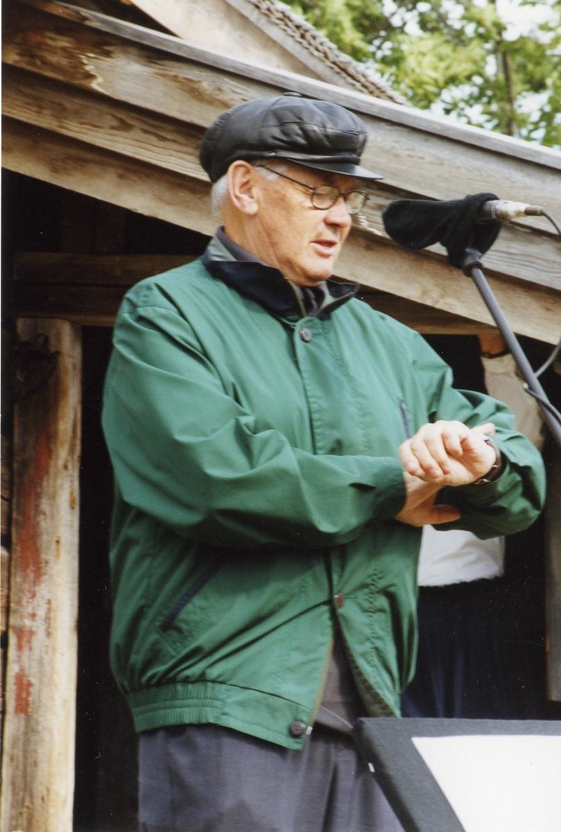 Sigurd Telnes framfor Gongestoga