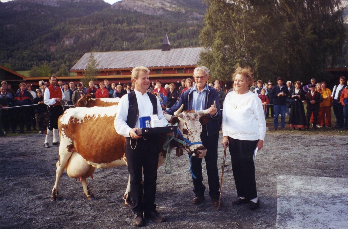 Premiering av Telemarksfe: (2) 59 Dagros.