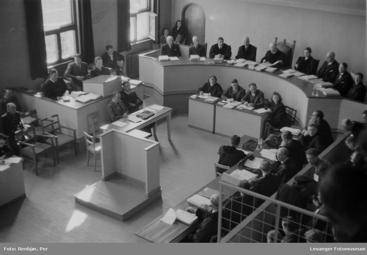 Rinnansaken, administatorer og dommere