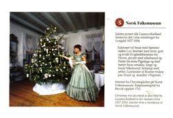 Postkort. Jule- og nyttårskort.  Ubrukt. Motiv fra Norsk Fol