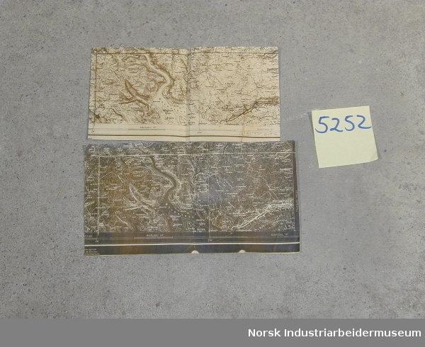 kart over møsvatn Kart   Norsk Industriarbeidermuseum / DigitaltMuseum kart over møsvatn