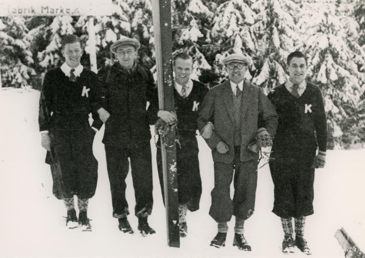 Kongsberg skiers in Central-Europe