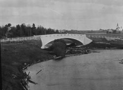 Åkerby, Ockelbo socken, bron som byggdes 1916, detaljbild.
