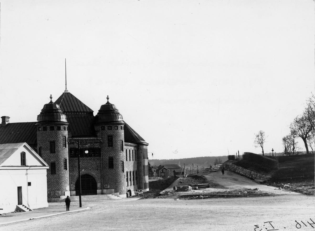 Godtemplarhuset, byggt 1902. (Före urschaktningen vid kyrkan).
