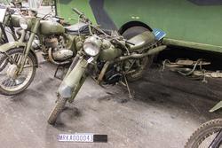 Motorcykel 256 A HVA