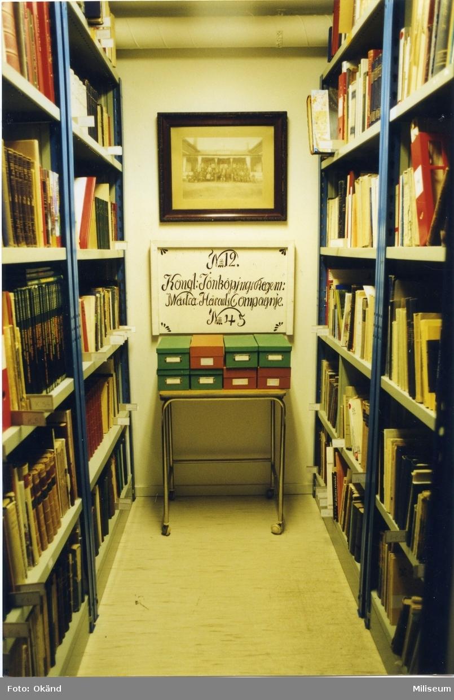 Biblioteket. Försvarshistoriska muséet, Jkpg.