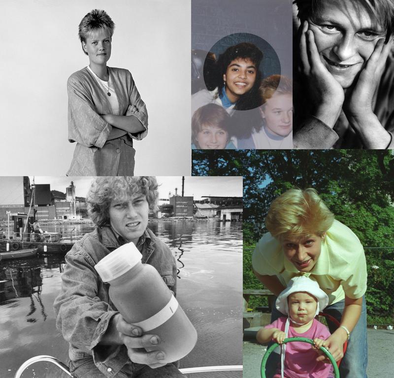 Portretter fra 80-tallet