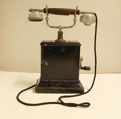 Telefon med sveiv