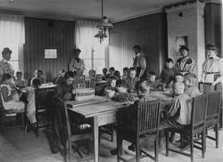Gävle stads arbetsstuga för barn. Södra Kungsgatan 31.
