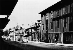 Södra Kungsgatan. Närmast Auktionskammaren/Teatern.