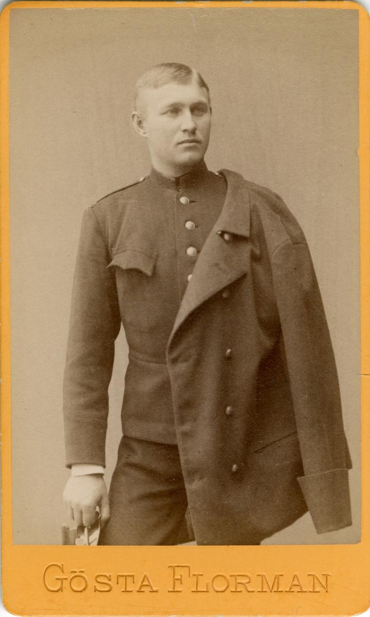 Porträtt av Jakob Axel Broander vid Gotlands nationalbeväring I 27.