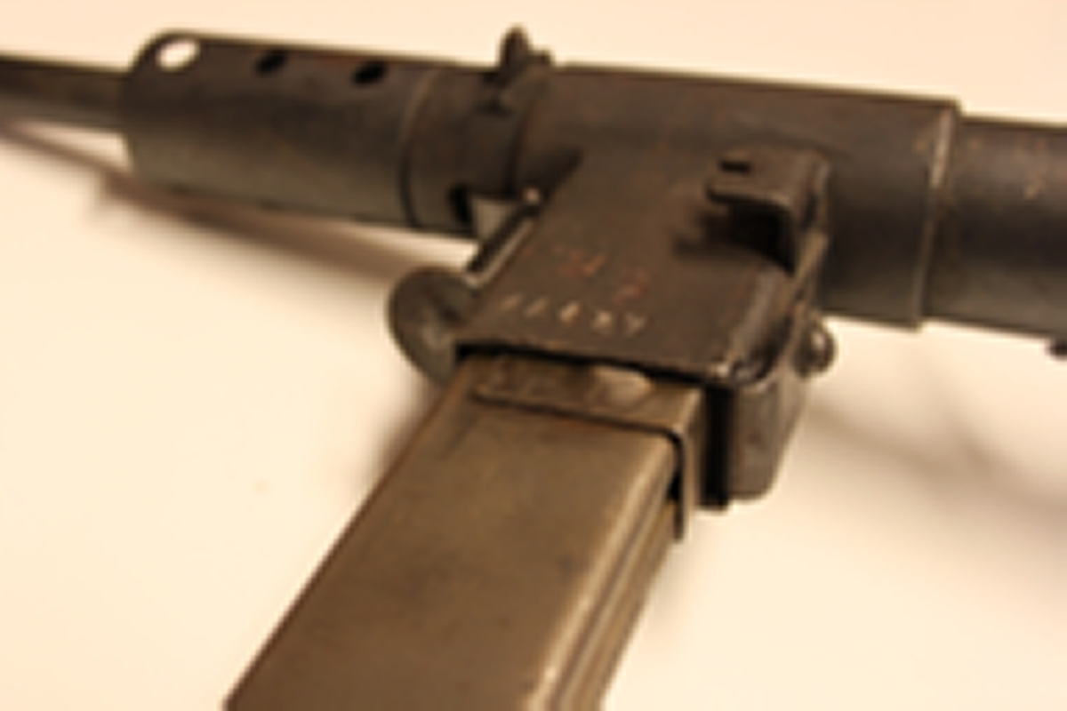 Stengun mark 2, helsveiset, nr. 24859