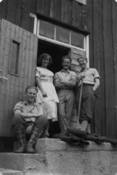 Trappa på Måsvassbu..Tilhører Molde og Romsdals Turistforeni