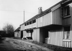 Färghandlare Sundins hus vid torget i Värnamo.
