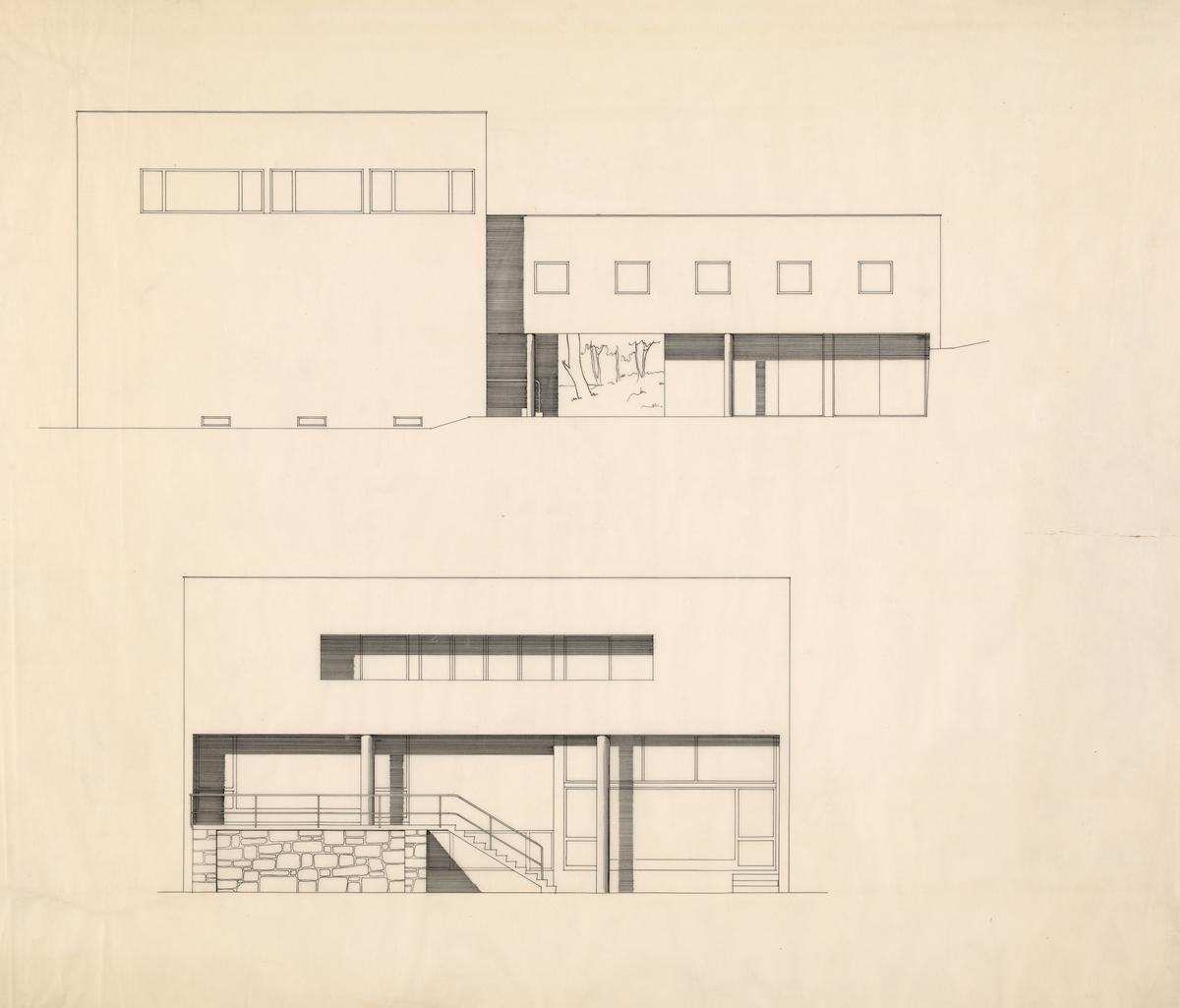 Villa Ditlev-Simonsen [Fasadeoppriss]