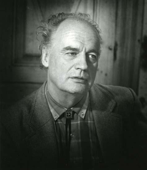 Författaren Sven Viksten, 1985.