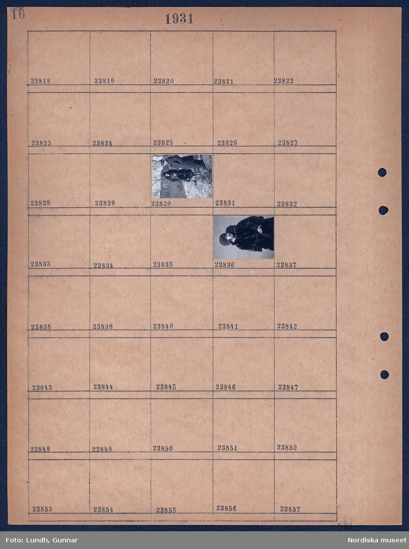 Motiv: Ulla-Britta, Astor, Alva: Porträtt av en kvinna en man troligen Astor Lundh och ett barn.