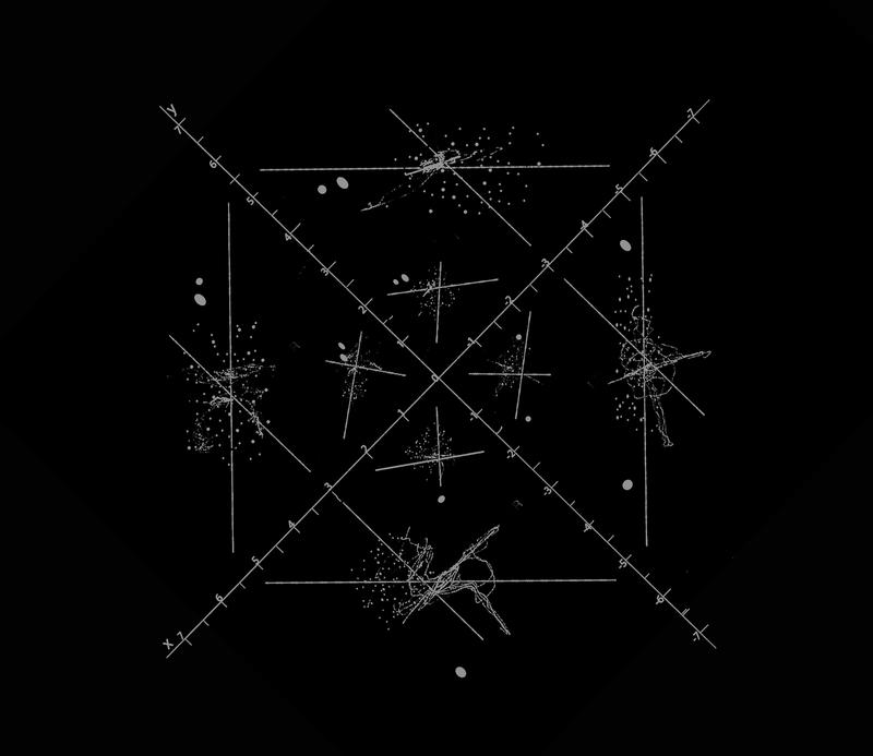 "Nazare Soares: Sound composition diagram, "" ( 2,2 ) 0 "", 2017"