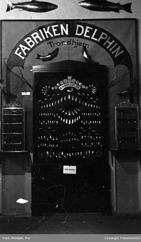 Fra utstillingen om høsten under byjubileet i 1936, Fabriken Delphin Trondheim.