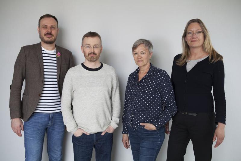 Årets jury, Steffen W. Holden (NKM), Reinhold Ziegler, Edith Lundebrekke og Anne Thomassen. (Foto/Photo)