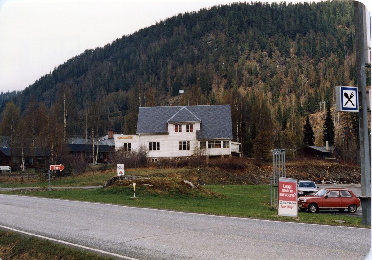 Solbraut. Doktorgården i Bagn sentrum, Sør-Aurdal.