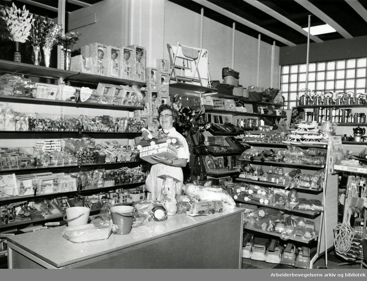 Lambertseter S-lag. November 1960