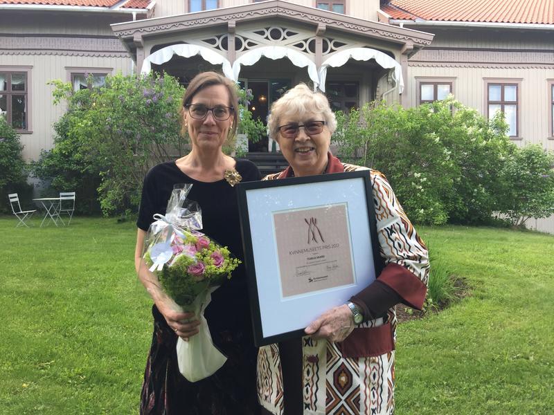 Under gjenåpningen av Kvinnemuseet i Kongsvinger 1. juni ble en nyopprettet hederspris utdelt til Torild Skard.