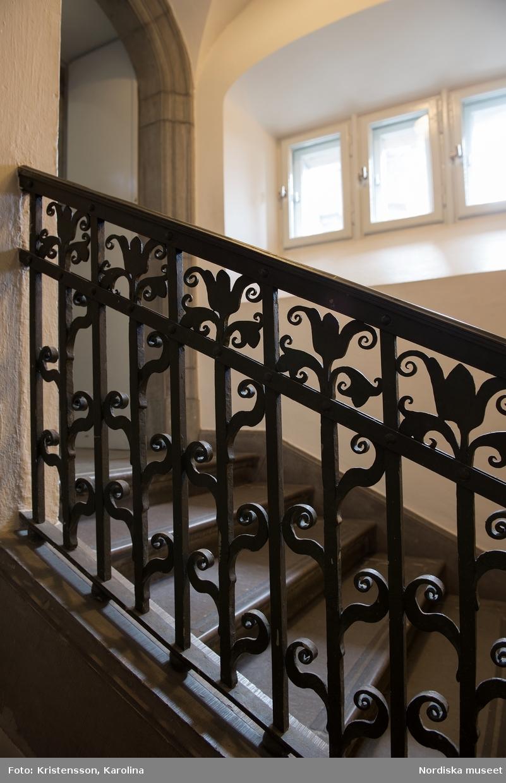 Dekorativa trappräcken och ledstänger
