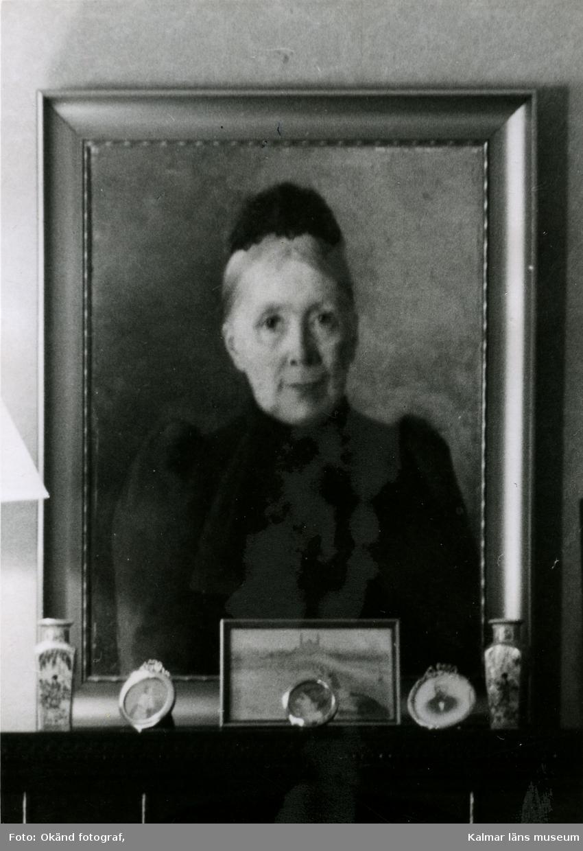Gift med rådman Carl Sundberg. Oljemålning av Anna Strussenfelt. Carlsberg. Okänd0730