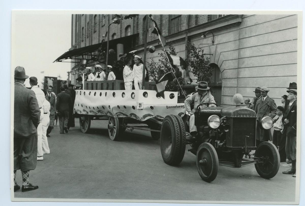Firande av Barnens Dag i Kalmar 1935.