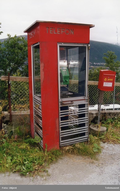 Telefonkiosk i Bendiksenbakken, Tromsø