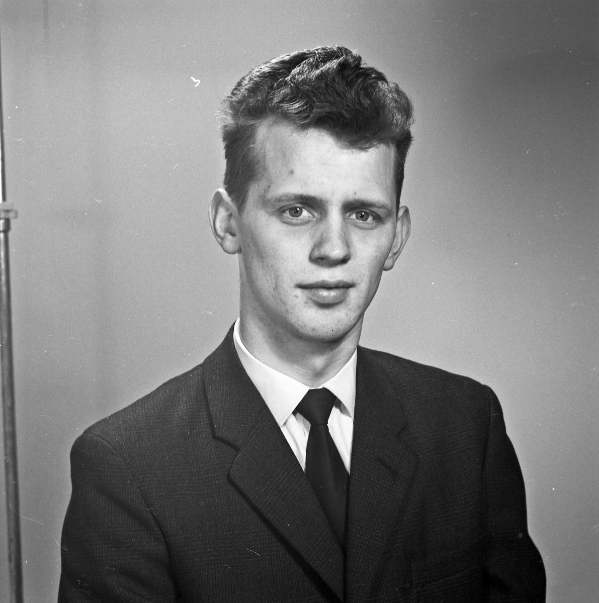 Portrett ung mann - bestiller Odd Jacobsen