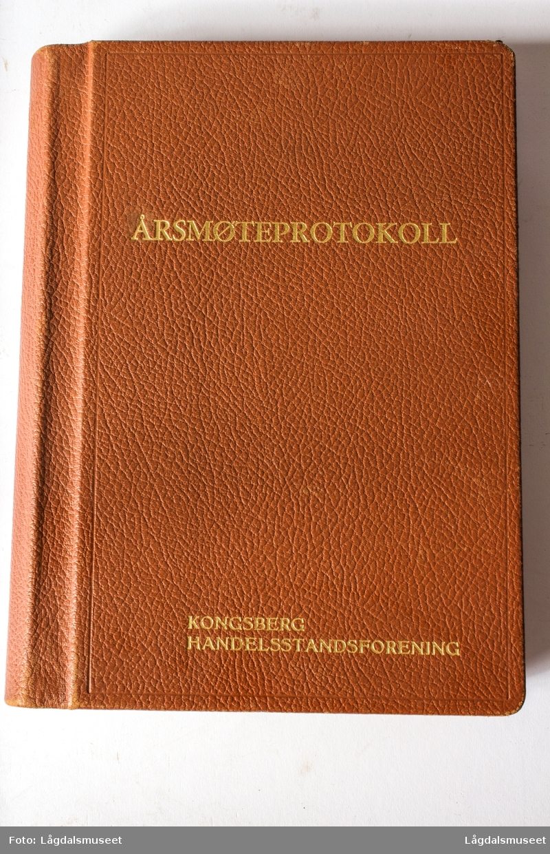 Årsmøteprotokoll for Kongsberg Handelsstandsforening
