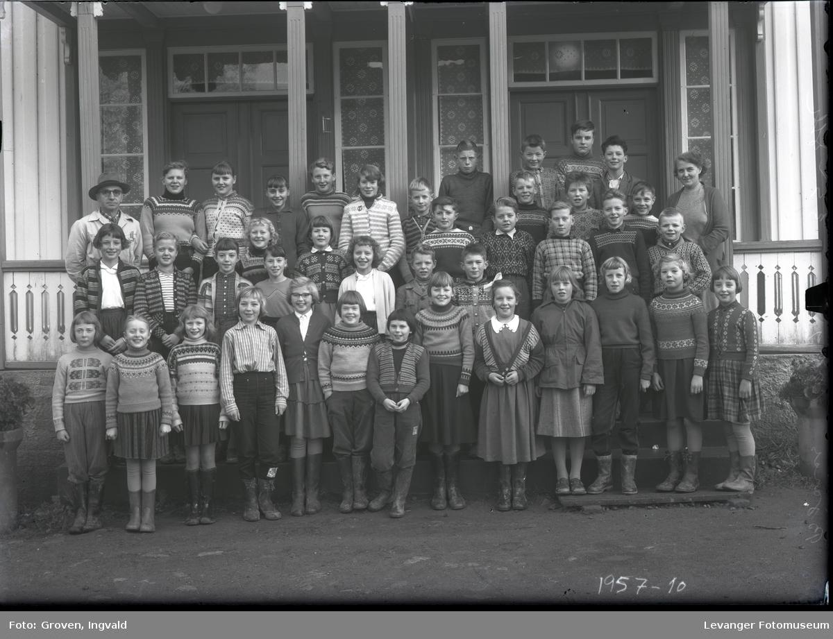 Skolebilde fra folkeskole, Finne skole