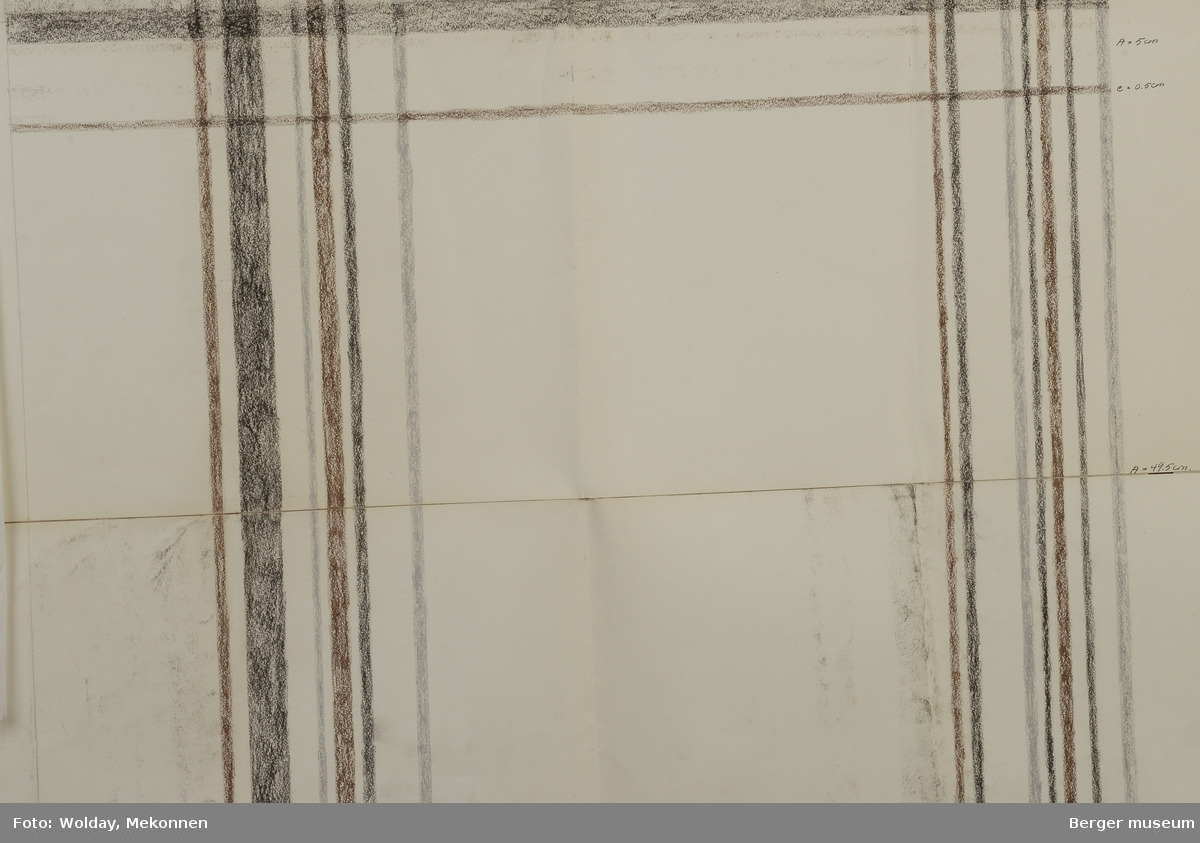 Striper som danner store ruter