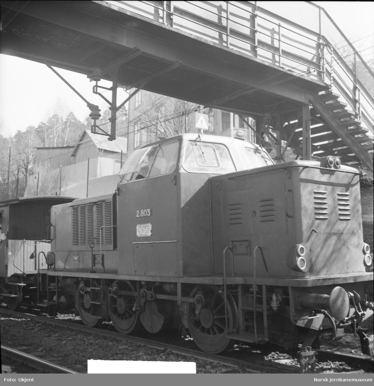 Diesellokomotiv Di 2 803
