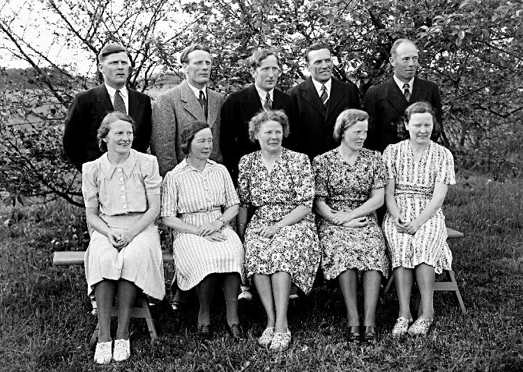 Gruppfoto, Fägre socken.