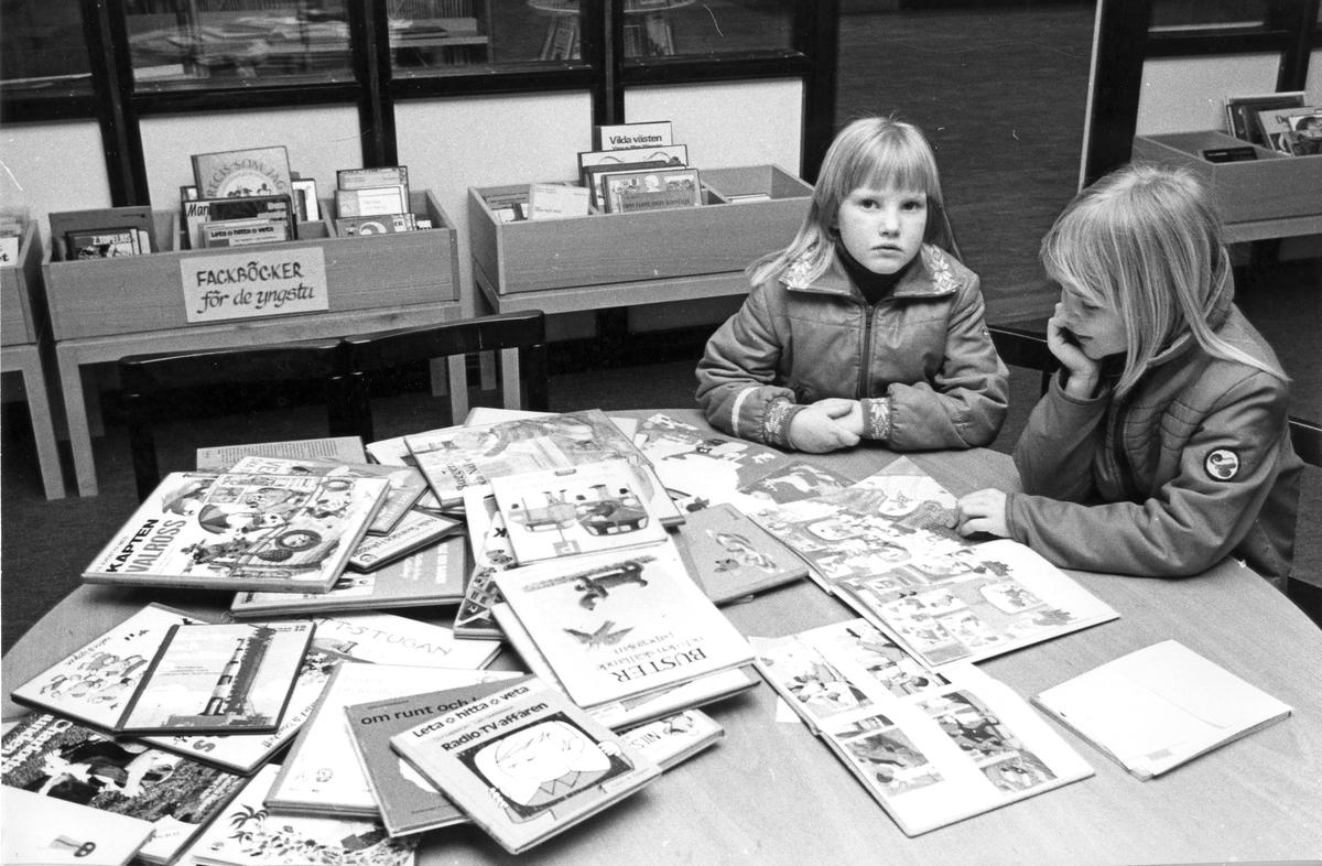 Andersbergs bibliotek, låntagare, barn