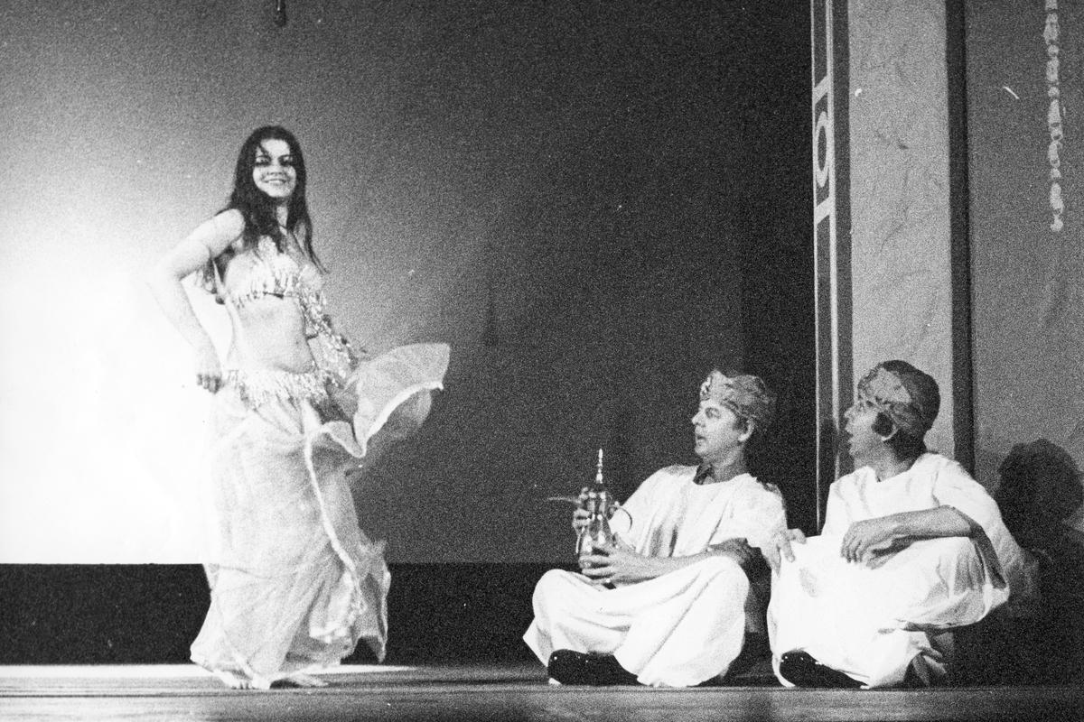 Underhållning,. Gefle Lyriska Teater