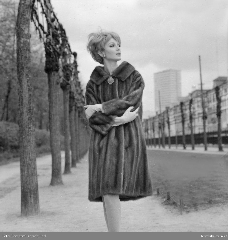Pälsmode, ca 1963