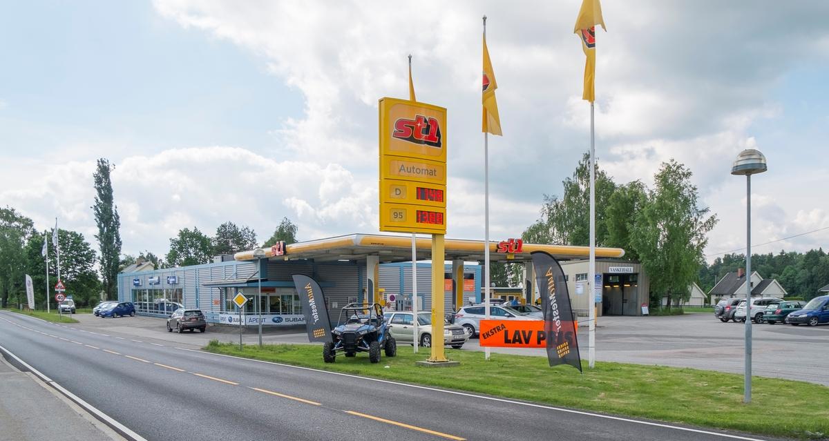 St1 bensinstasjon Trondheimsveien Kløfta Ullensaker