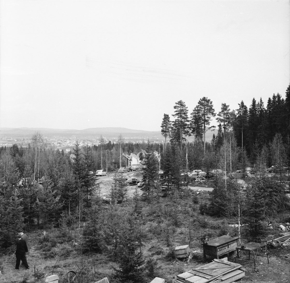 Hantverkarmöte, Edsbyns Hantverkargård. 18 - 19/5 1957