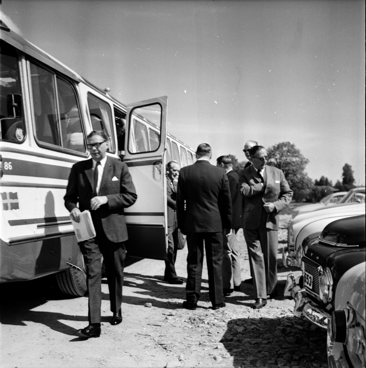 Statsrevisorerna, Besök i Bollnäs, 7 Juni 1966