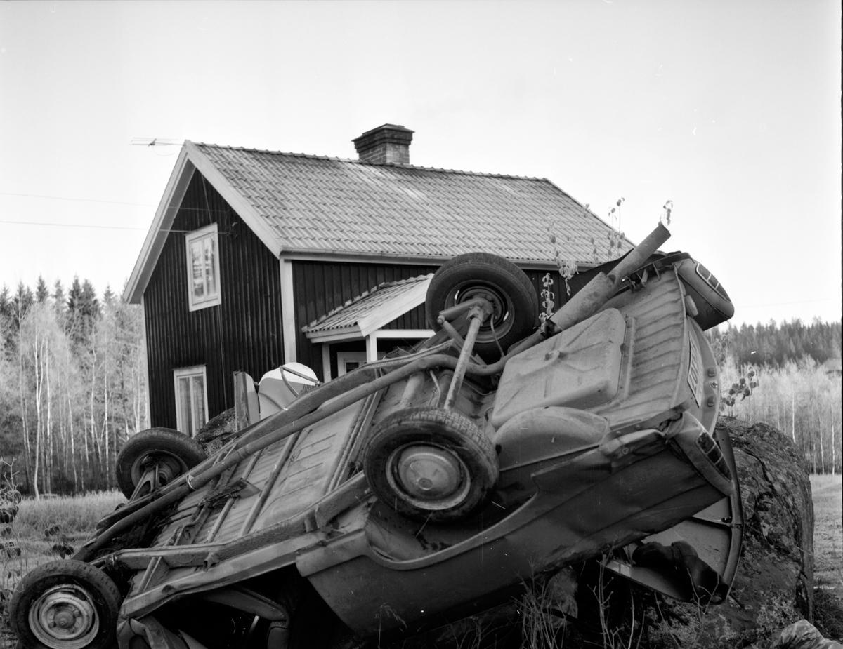 Bilolycka i Gässlingsbo, Gösta Wallin, 26 Oktober 1965