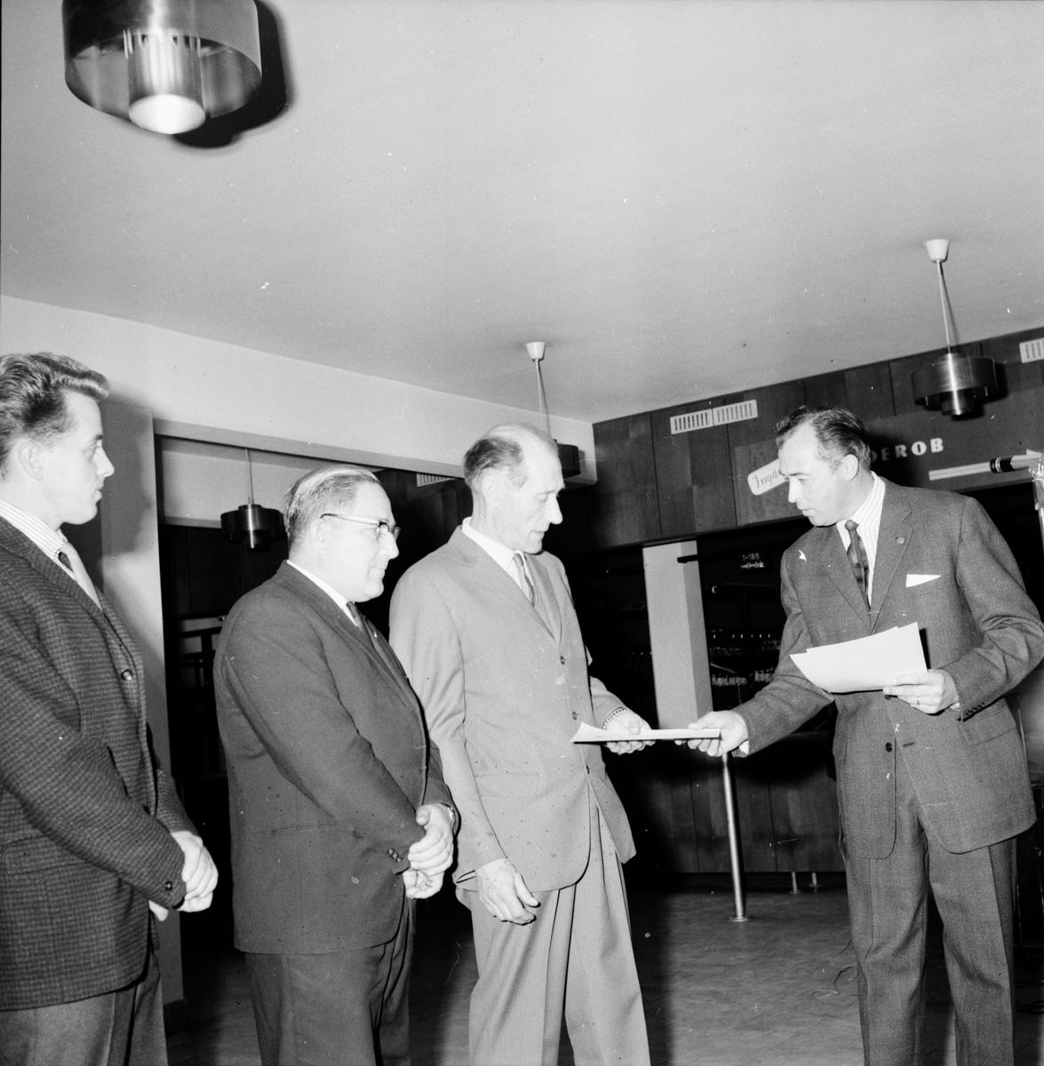 Lionklubbens Mannekänguppvisning, 15 Nov 1964